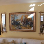 Sconces & Oil Painting
